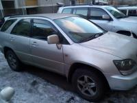 Toyota Harrier 2001 СЕРЫЙ